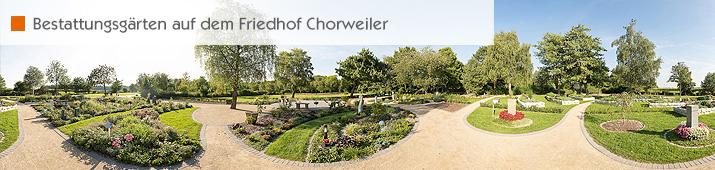 Bestattungsgärten auf dem Friedhof Chorweiler