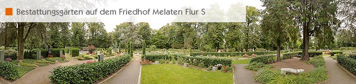 Bestattungsgärten auf dem Friedhof Melaten Flur S